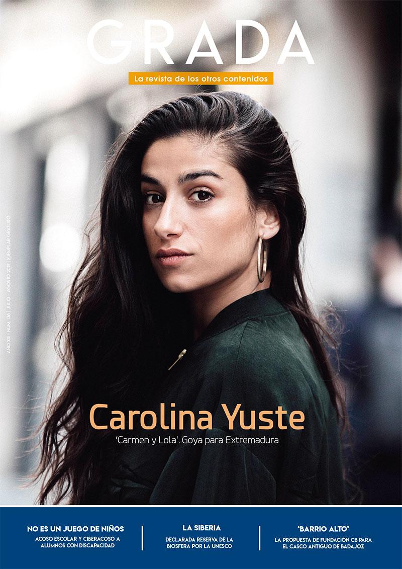 Carolina Yuste. 'Carmen y Lola'. Goya para Extremadura. Grada 136. Portada