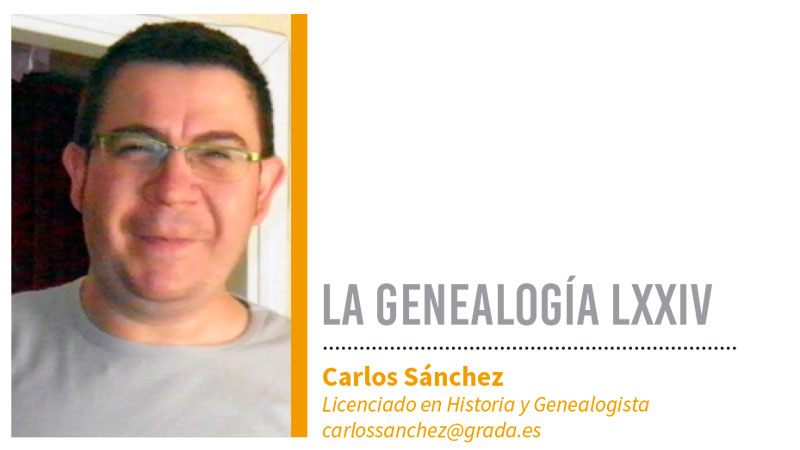 Genealogía LXXIV. Grada 136. Carlos Sánchez