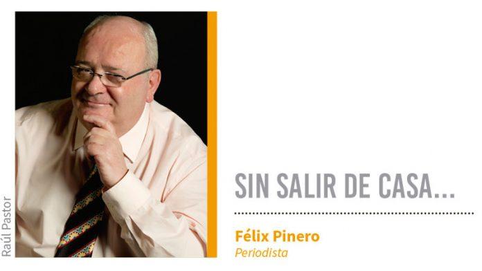 Sin salir de casa... Grada 136. Félix Pinero