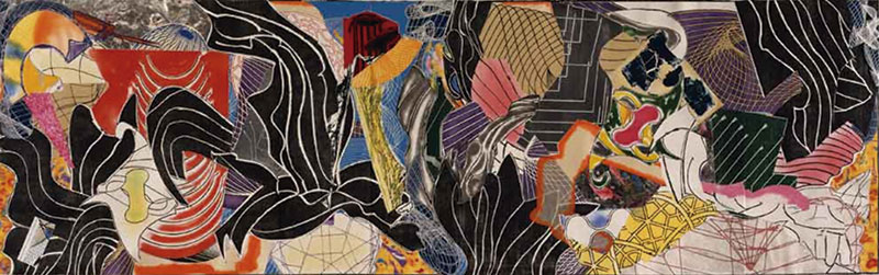 'Moby Dick', de Frank Stella. Grada 136. Arte