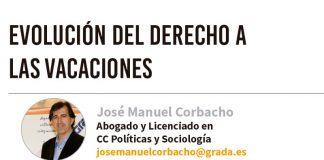 Evolución del derecho a las vacaciones. Grada 136. José Manuel Corbacho