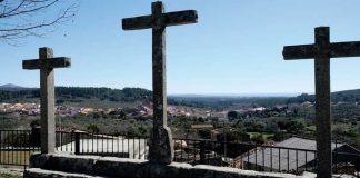 Las cruces de Acebo. Grada 136. Historia