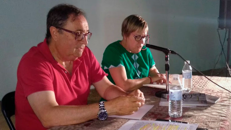Juan Monzú Ponce presenta su poemario 'La voz abierta-Memoria, voz y silencio en primera persona'