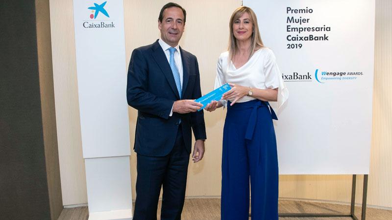 Isabel Sánchez Serrano recibe el Premio Mujer Empresaria en Castilla-La Mancha y Extremadura 2019