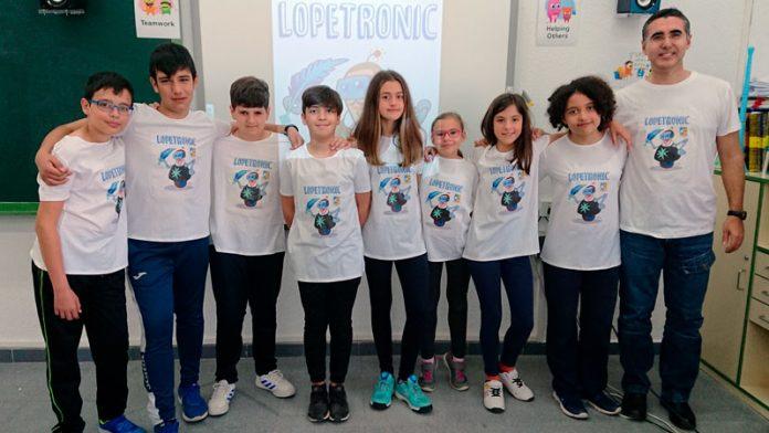 El colegio Lope de Vega de Badajoz representará a España en el Mundial de Robótica RoboRAVE en China
