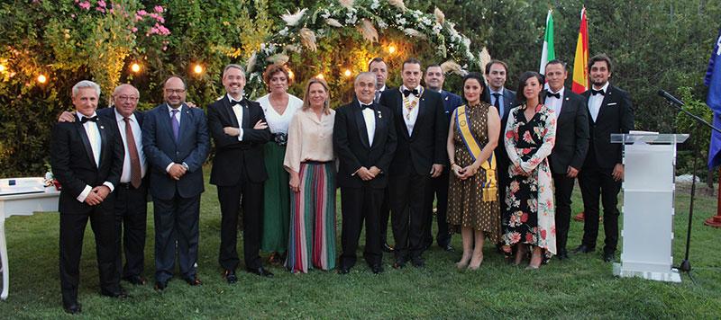 Javier Gutiérrez Rubio es elegido presidente del Club Rotary Cáceres