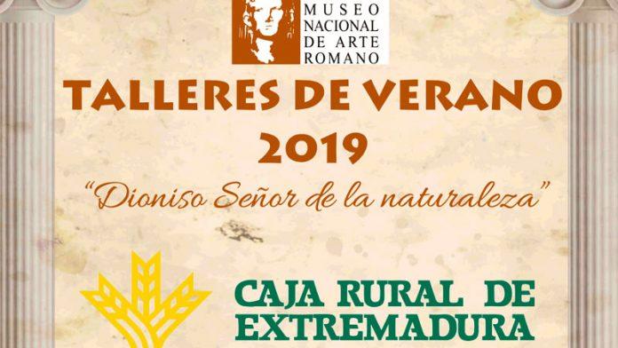 Caja Rural de Extremadura colabora con los talleres de verano del Museo Nacional de Arte Romano de Mérida