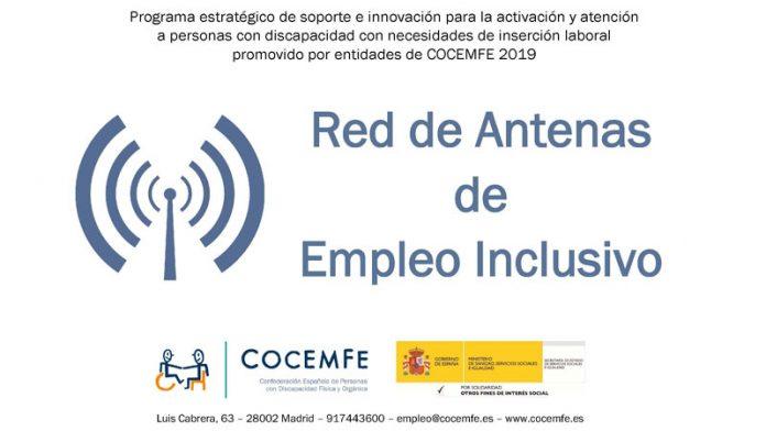 Cocemfe Cáceres continúa desarrollando el programa 'Red de antenas de empleo inclusivo'
