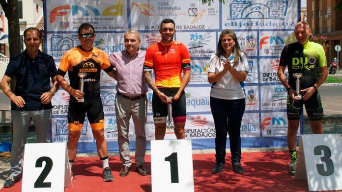Rubén Tanco consolida su liderato en la Copa de España de ciclismo adaptado tras su victoria en Badajoz
