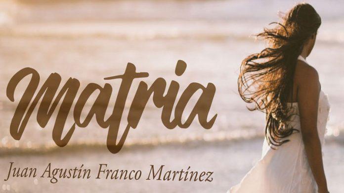 Juan Agustín Franco publica su nuevo poemario, 'Matria'