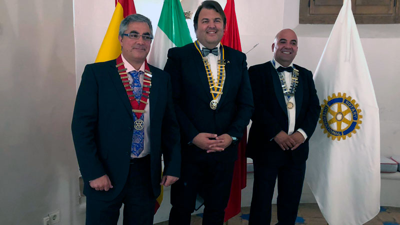 Francisco Esteban es elegido presidente del Club Rotario de Mérida