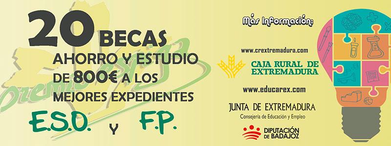 Caja Rural de Extremadura convoca la cuarta edición de las Becas Espiga
