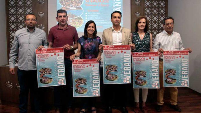 La Diputación de Badajoz pone en marcha la segunda edición del Plan de dinamización deportiva de verano