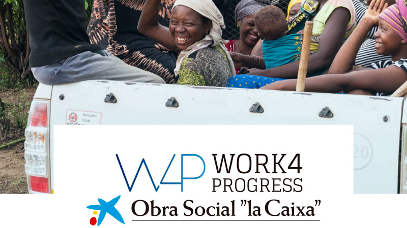 La Caixa abre la convocatoria 'Work 4 Progress' para la empleabilidad en India, Mozambique y Perú