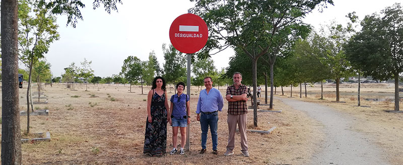 Casar de Cáceres inaugura el Skate Park y la exposición permanente 'Señales por la diversidad'