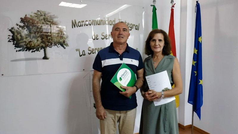 Plena inclusión Extremadura y la Mancomunidad La Serena-Vegas Altas estudian diversas fórmulas de colaboración