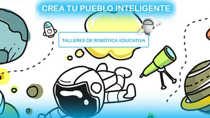 Comienzan los talleres de robótica 'Crea tu pueblo inteligente' en la provincia de Cáceres