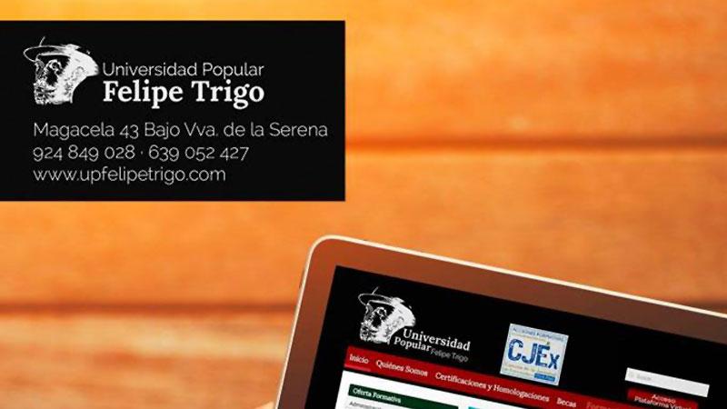 Plena inclusión Extremadura y la Universidad Popular Felipe Trigo desarrollan actividades formativas conjuntas