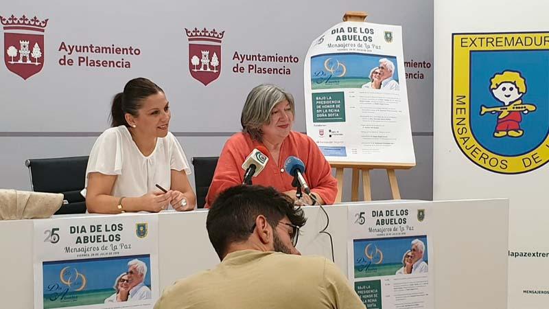 Mensajeros de la Paz Extremadura organiza en Plasencia la celebración del Día nacional de los abuelos