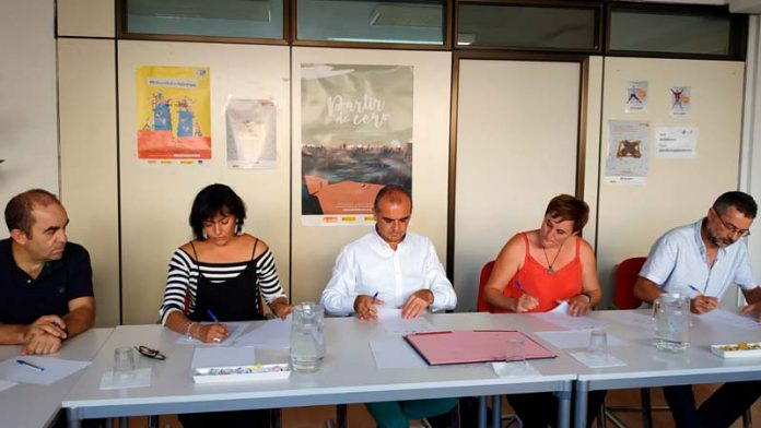 La Plataforma del Tercer Sector firma un convenio de colaboración con varias organizaciones ambientales