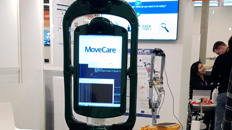 La Consejería de Sanidad comienza las pruebas funcionales del asistente robótico Movecare