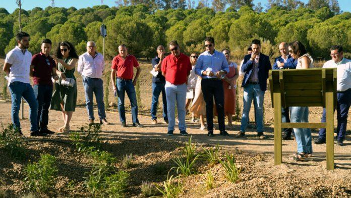 La Diputación de Badajoz crea en Valverde de Leganés el primer jardín adaptado al cambio climático