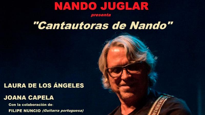 Espectáculo musical 'Cantautoras de Nando' en Fregenal de la Sierra