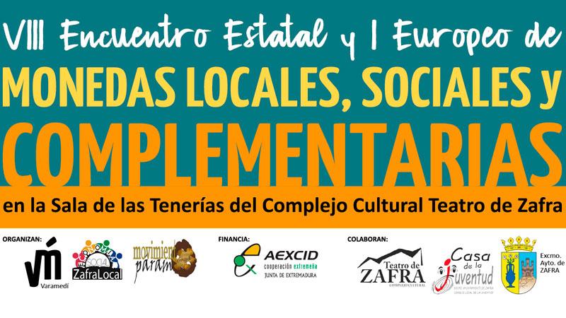 Zafra acoge en octubre el VIII Encuentro estatal y I Encuentro europeo de monedas locales, sociales y complementarias