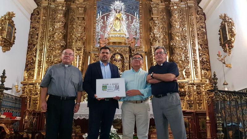 La Virgen de la Piedad, patrona de Almendralejo, protagoniza hoy 5,5 millones de cupones de la ONCE