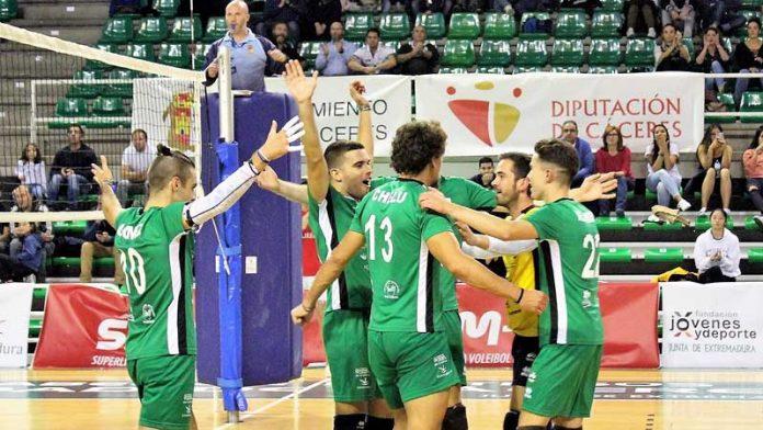 El Extremadura Cáceres Patrimonio de la Humanidad ya conoce el calendario de la nueva temporada de Superliga 2 de voleibol