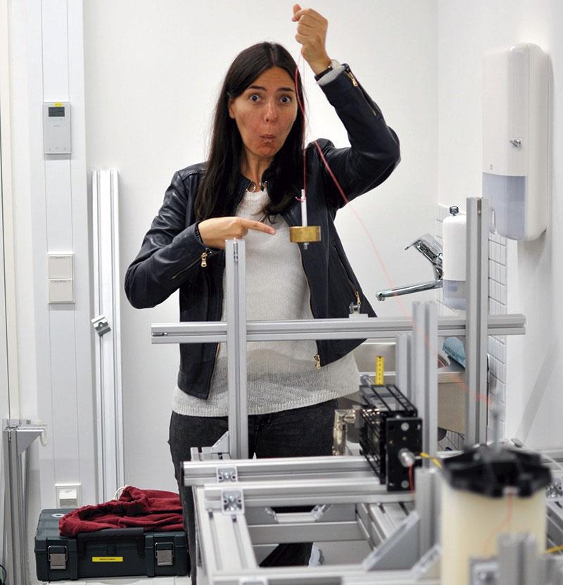 Concepción Monje. Investigadora experta en robots asistenciales. Grada 137. Perfil