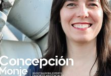 Concepción Monje. Investigadora experta en robots asistenciales. Grada 137. Portada