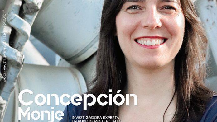 Concepción Monje. Investigadora experta en robots asistenciales. Grada 137. Portada