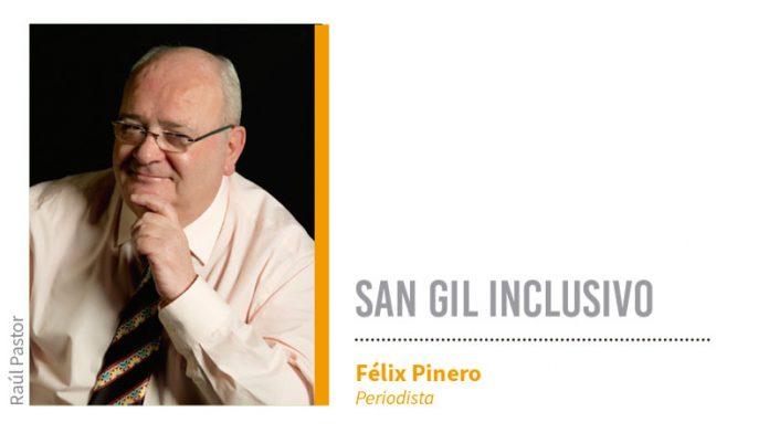 San Gil inclusivo. Grada 137. Félix Pinero