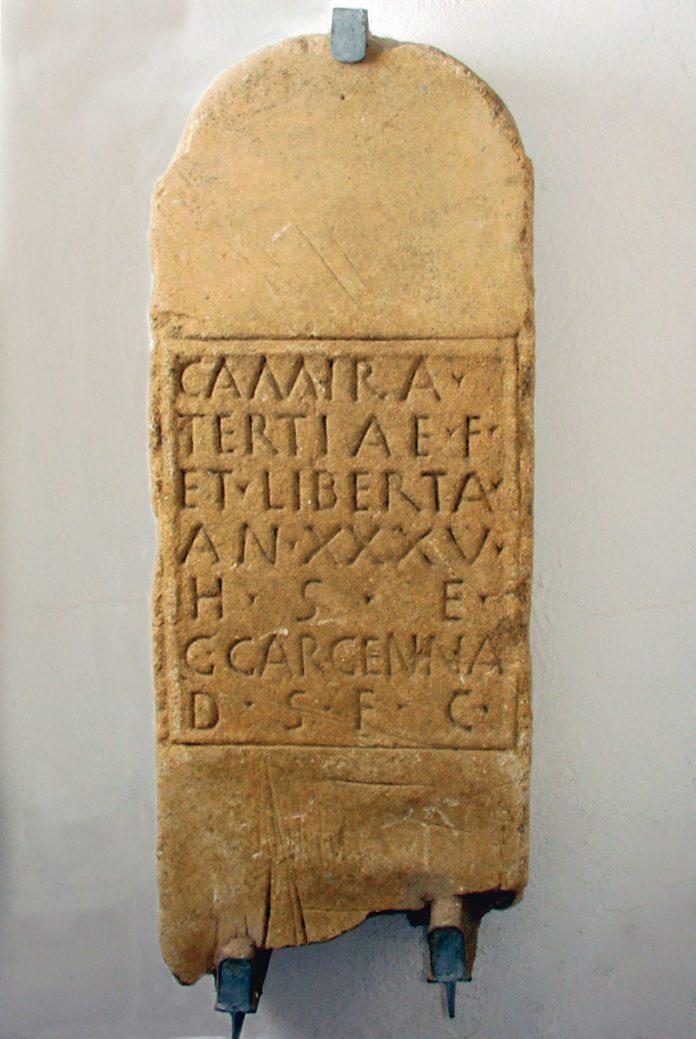 Los nombres de nuestros antepasados: Camira. Grada 137. Arqueología