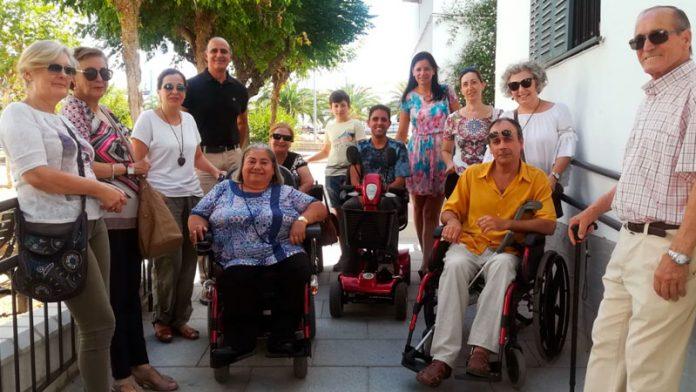 El Ayuntamiento de Zafra y la barriada del Príncipe ya son accesibles para personas con movilidad reducida