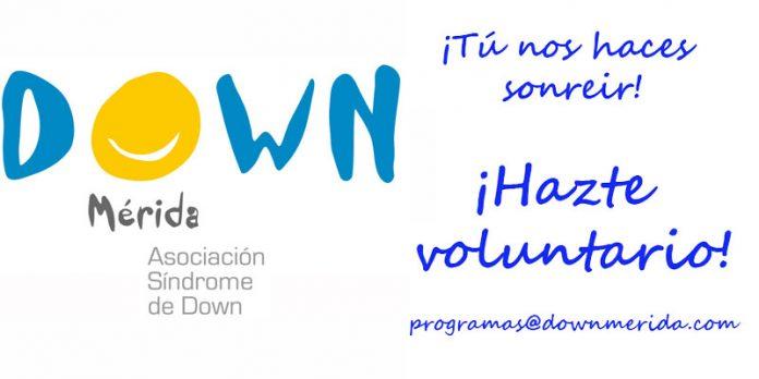 Down Mérida abre un periodo de captación de voluntarios para el desarrollo de sus talleres