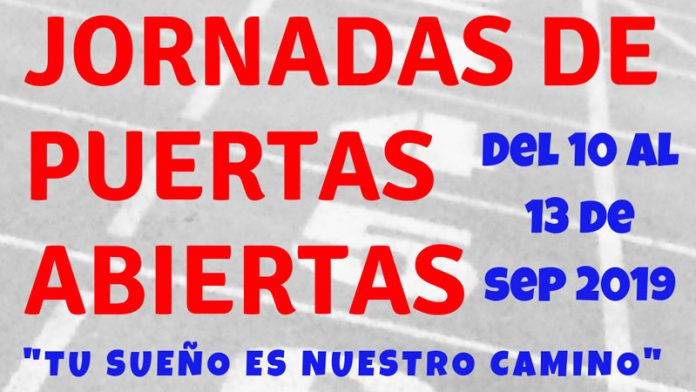 El Club Atletismo Perceiana de Villafranca de los Barros está de puertas abiertas hasta el viernes