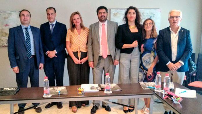 La ONCE en Extremadura premia a Fedapas, el diario Hoy, Manuel López Risco, Carrefour y el Ayuntamiento de Don Benito