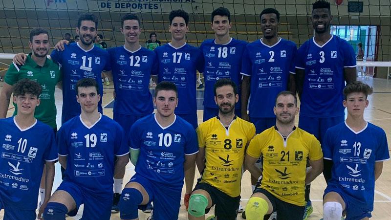 El Extremadura Cáceres Patrimonio de la Humanidad se lleva el Trofeo de voleibol de Badajoz