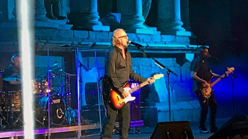 Umberto Tozzi llena de nostalgia el 'Stone & Music' Festival de Mérida