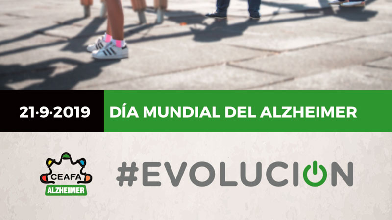 El Día mundial del Alzheimer se celebra bajo el lema 'Alzheimer Evolución'