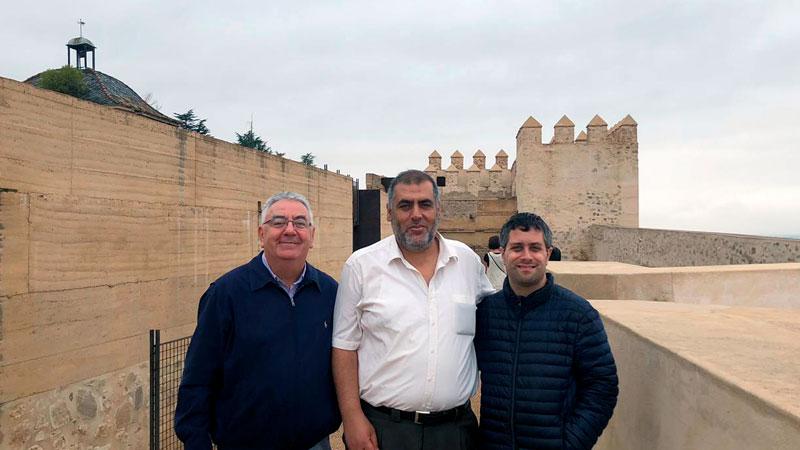 Una visita guiada a la Alcazaba de Badajoz fomenta la tolerancia entre las religiones