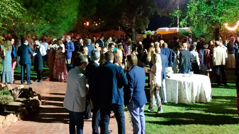 Más de 400 personas asisten a la VII Cena benéfica 'Dehesas Solidarias' de Cáceres