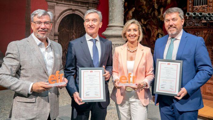 Ibercaja obtiene la certificación de Empresa Familiarmente Responsable por el compromiso con el bienestar de sus empleados