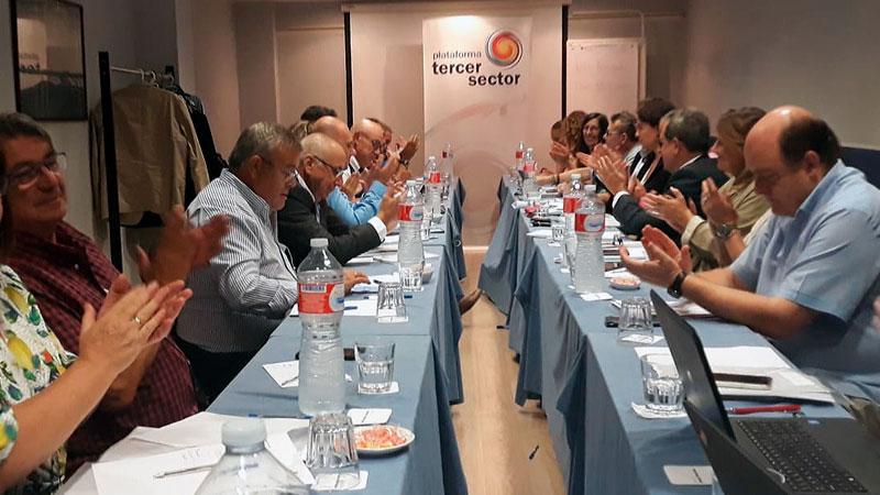 La Plataforma del Tercer Sector constituye un comité territorial para avanzar en cohesión y materia social