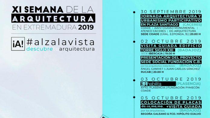 La Semana de la Arquitectura en Extremadura invita a los extremeños a redescubrir su arquitectura