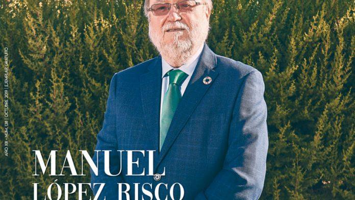 Manuel López Risco. Pasión por ser útil. Grada 138. Portada