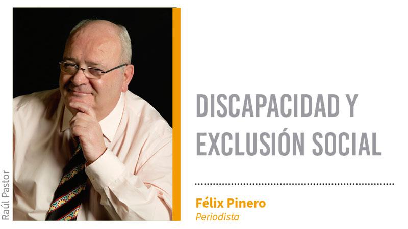 Discapacidad y exclusión social. Grada 138. Félix Pinero