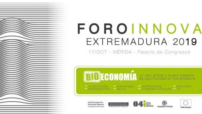 El Foro Innova Extremadura 2019 se celebra en Mérida. Grada 138 . Fundecyt-Pctex